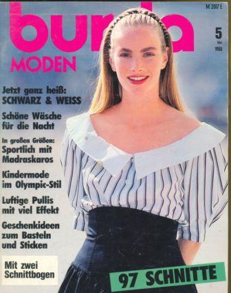 Журнал BURDA MODEN 1988 5