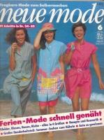 NEUE MODE 1981 06