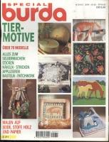 BURDA SPECIAL (БУРДА) 1994 E245 30/94 Tier-Motive