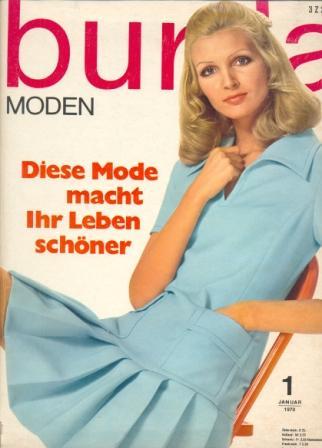Журнал BURDA MODEN 1970 1