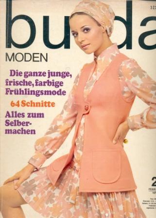 Журнал BURDA MODEN 1970 2