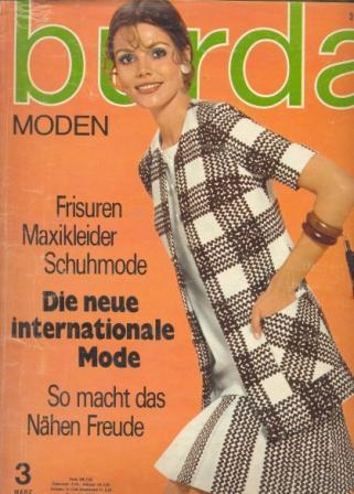 Журнал BURDA MODEN 1970 3