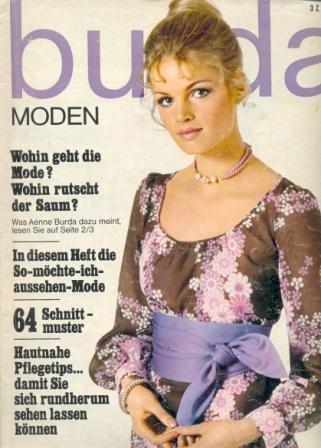 Журнал BURDA MODEN 1970 6