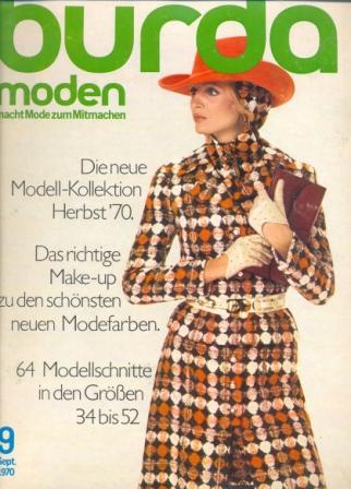 Журнал BURDA MODEN 1970 9