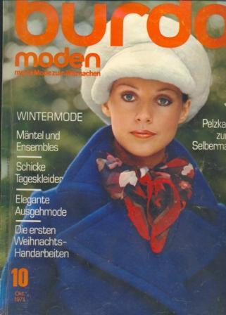 Журнал BURDA MODEN 1971 10