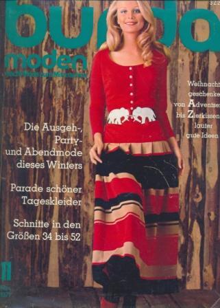 Журнал BURDA MODEN 1971 11