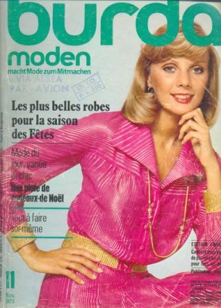 Журнал BURDA MODEN 1973 11