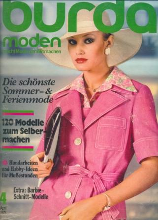 Журнал BURDA MODEN 1975 4