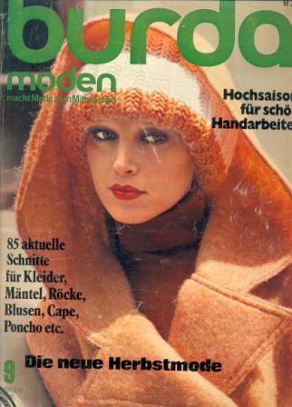Журнал BURDA MODEN 1975 9