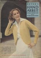 Журнал BEYERs HANDARBEIT und Wäsche 1952 05