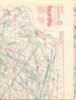 ч. BURDA 1989 11 C-D  лист выкроек