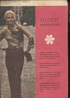 SILUETT выкройка-молния Универсальная блузка-рубашка 1972