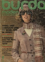 Журнал BURDA MODEN 1974 9