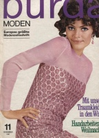 Журнал BURDA MODEN 1967 11