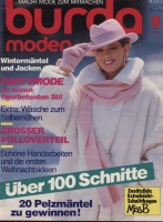 Журнал BURDA MODEN 1986 10