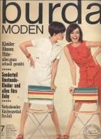 Журнал BURDA MODEN 1966 7
