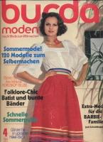 Журнал BURDA MODEN 1977 4