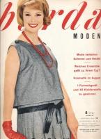 Журнал BURDA MODEN 1961 8