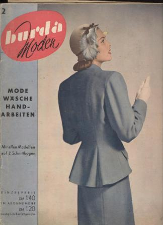 Журнал BURDA MODEN 1950 2
