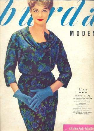 Журнал Burda Moden 1958 1