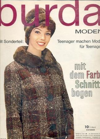 Журнал BURDA MODEN 1961 10