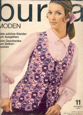 Журнал BURDA MODEN 1968 11