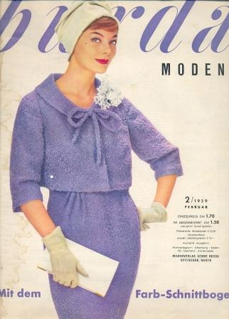 Журнал BURDA MODEN 1959 2