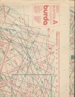 ч. BURDA 1990 03 A-B лист выкроек