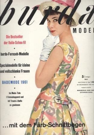 Журнал BURDA MODEN 1961 5
