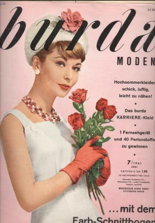 Журнал BURDA MODEN 1961 7
